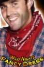 FANCY DRESS HAT # WILD WEST COWBOY RED BANDANA /NECKTIE